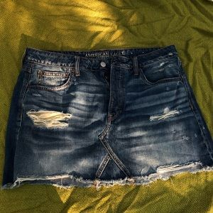 American Eagle Brand New Jean Skirt